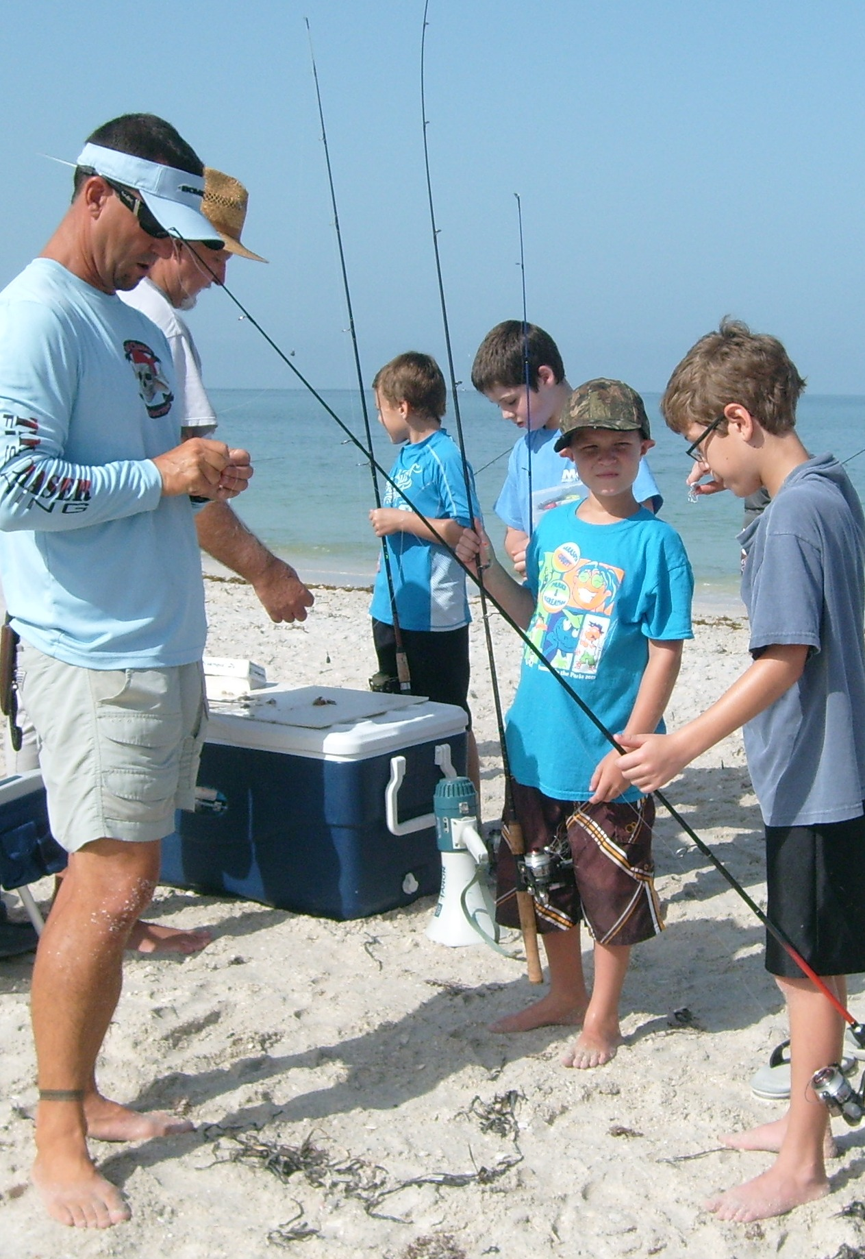 Nokomis beach 901 casey key rd casey key contact person for Fishing summer camp