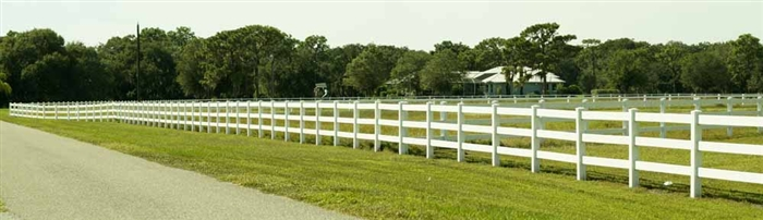 White Fence and Post SRC